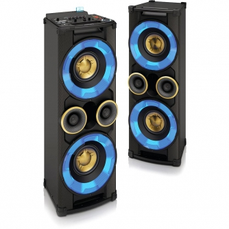 Mini System Nitro 7 NTRX700x/78 CD/DVD, Duplo USB, Bluetooth, Hi-Fi, HDMI, Função Nitro, DJ Effect, 1000W RMS - Philips